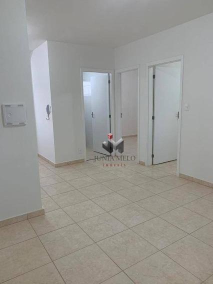 R$ 750,00 - Edifício Lar França - Apartamento Com 2 Dormitórios Para Alugar, 45 M² - Jardim Santa Cecília - Ribeirão Preto/sp - Ap2939
