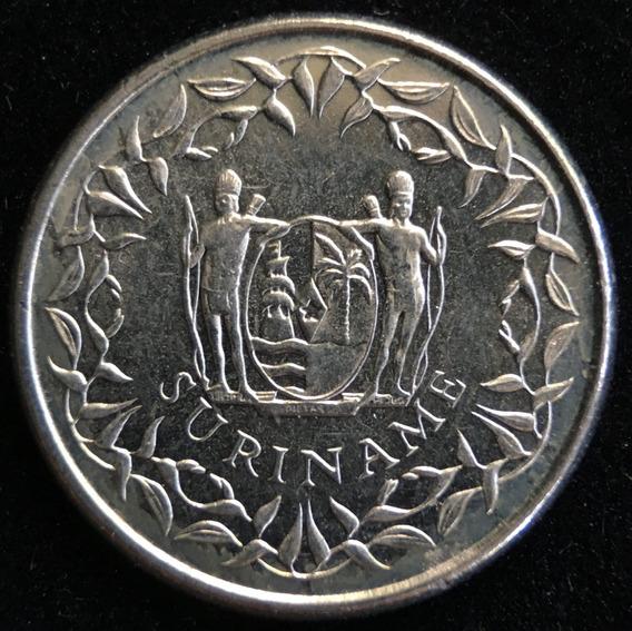 Surinam, 10 Cents, 1989. Sin Circular