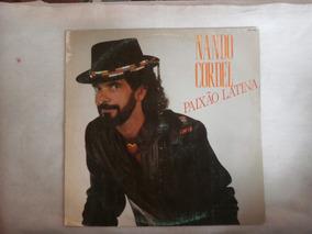 Lp Nando Cordel Paixão Latina, Disco De Vinil, Ano De 1992