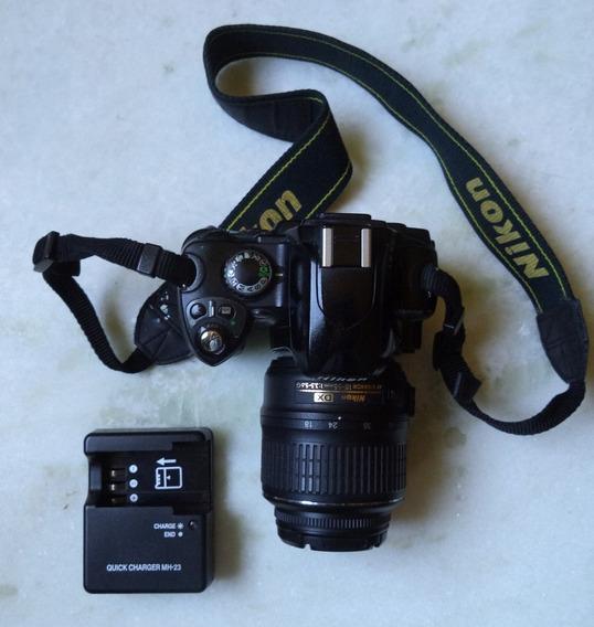 Camêra Nikon D40, Lente 18-55mm