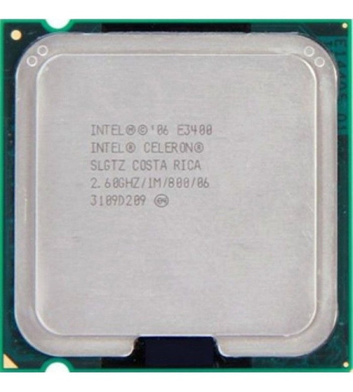 Processador Intel Celeron E3400 2.60ghz Slgtz 775
