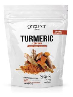 Cúrcuma 240 Gr Turmeric Entera Pharma Sin Gluten Vegano