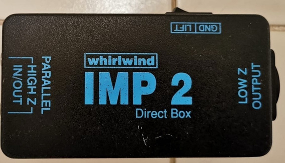 Direct Box Passivo Whrilwind Imp 2