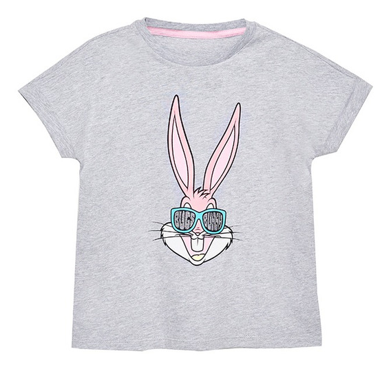 Playera Looney Tunes Bugs Bunny 80 Aniv De Niñas C&a 1060065