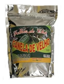 Kit 5 Unid Canela De Velho, Folhas De Cha, 100 Gr 100%pura.