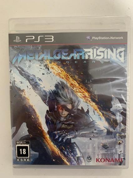 Jogo Metal Gear Rising Revengeance Xbox 360-original Lacrado
