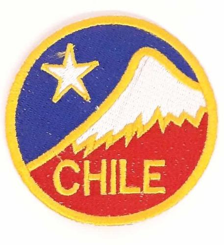 Parche Cordillera Chile (redondo)