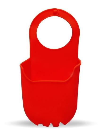 Porta Esponja Silicona Jabon Para Bacha Pileta Baño Cocina