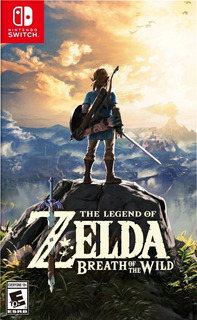 Juego The Legend Of Zelda Nintendo Switch Nuevo Físico
