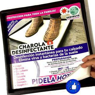 25pzs Charola Desinfectante Protege Casa Negocio Virus 40x40