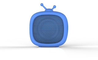 Parlante Portatil Bluetooth Noblex Psb02tv Forma Tv Niños