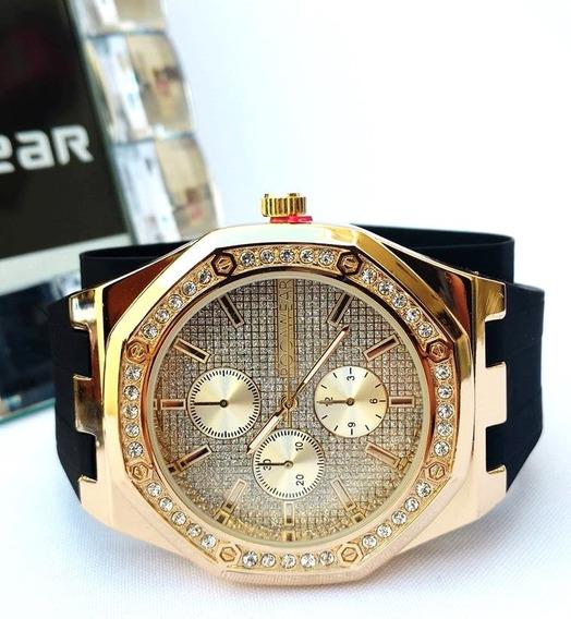 Reloj Rocawear Nuevo Original Caballero Mod:rm7778gn52a-010
