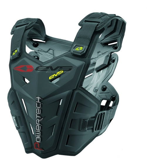 Pechera Motocross Atv Evs F1 Black Alpinestar Thor Fox L/xl