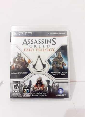 Assassins Creed Ezio Trilogy Ps3 Mídia Física Semi Novo