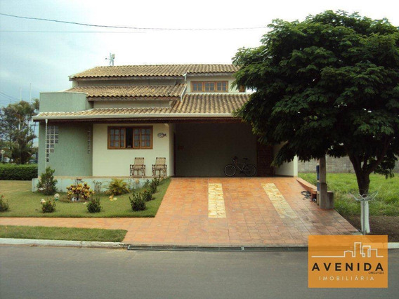 Casa Residencial À Venda, Condomínio Campos Do Conde, Paulinia - Ca0111. - Ca0111
