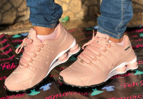 Tenis Nike Shox Rosa 4 Molas P/entrega