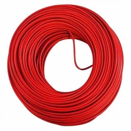 Imagen 1 de 2 de Rollo O Chipa De Cable 7 Hilos Calibre 12 Rojo X 100 Metros