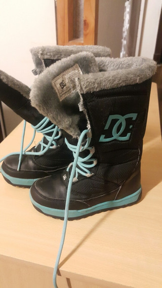 Botas Nena Dc Shoes Talle 31 Impecables Impermeables