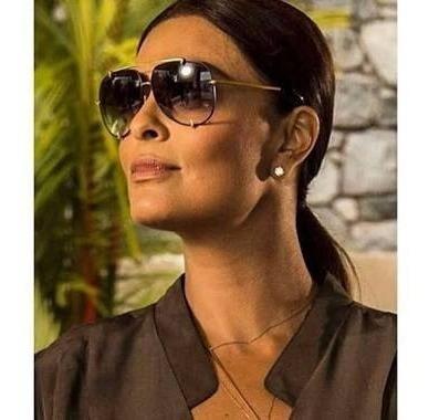 Óculos De Sol Preto Dita Talon