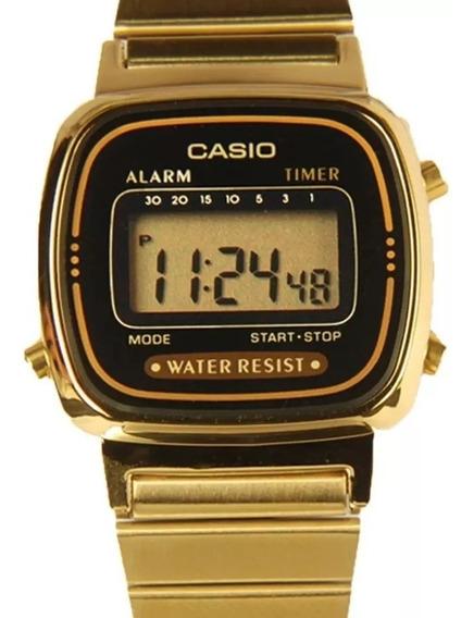 Relógio Casio Feminino La670wga-1df Original + Garantia + Nf