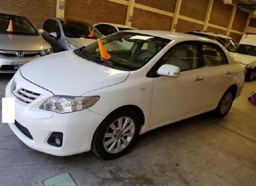 Toyota Corolla Seg 1.8 Mt Service Oficiales En 2014