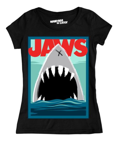 Jaws Mujer Tiburon Universal Studios Máscara De Látex
