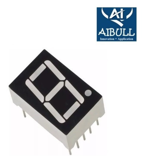Kit 6 Display 7 Segmentos Vermelho D168k Arduino Pic Nodemcu