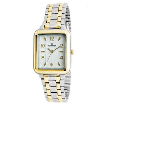 Relógio Champion Analógico Feminino Cn20471b Bicolor