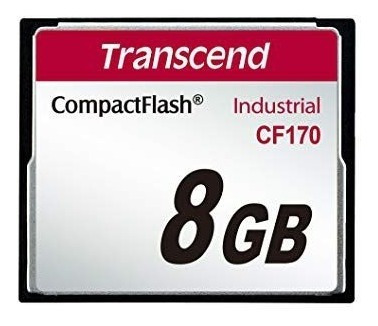 Cartão Compact Flash Cf Transcend 8gb 170x Industrial