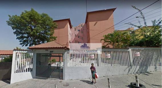 Apartamento Com 2 Dormitórios Para Alugar, 50 M² Por R$ 990/mês - Artur Alvim - São Paulo/sp - Ap0242