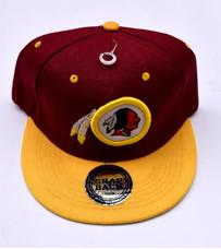 Nfl Washington Redskins Niños Jóvenes Equipo Flatbrim Gorra · Gorra Plana  Bordada   Washington Redskins   Ajustable ee519039c4b