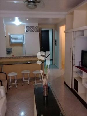 Apartamento Quarto E Sala Mobiliado Aluguel Pituba Ville - Fs0114