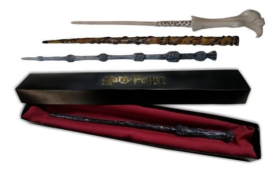 Varinha Harry Potter Diversos Modelos + Caixinha
