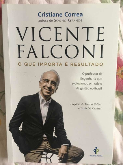 Livro Vicente Falconi O Que Importa É Resultado