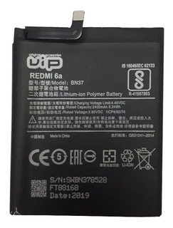 Batería Vip Para Xiaomi Redmi 6a Bn37 2400mah Gtía 6 Meses ®