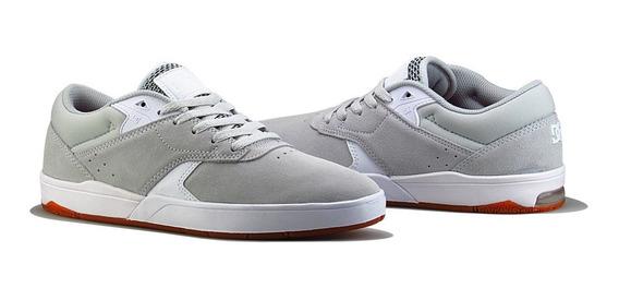 Tênis De Skate Dc Shoes Tiago Lemos Grey/white Importado