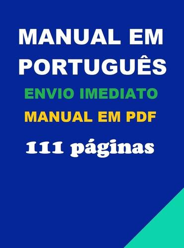Imagem 1 de 1 de Manual Em Português Do Transceptor Kenwood Th-f6-th-f7