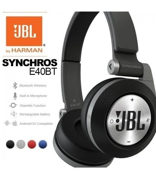 Audifonos Jbl E40bt Bluetooth Fm Y Micro Sd
