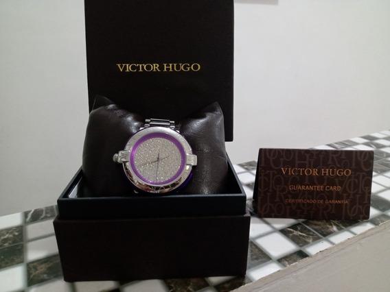 Relógio Victor Hugo Inox Silver