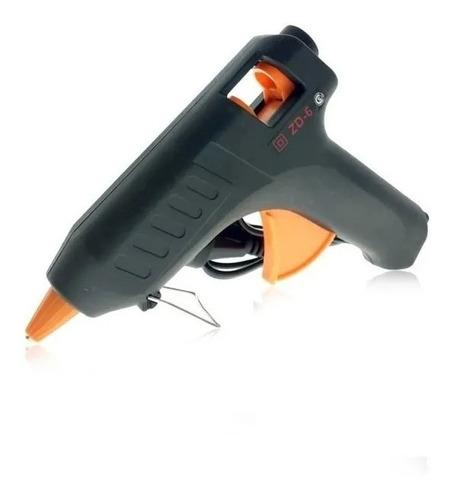 Pistola Encoladora Megalite De Silicona 60 W + 2 Barras
