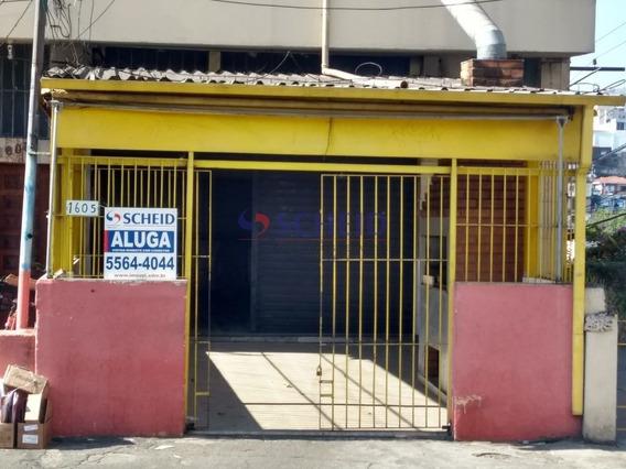Salão Comercial Em Jardim Prudência - Mc8265