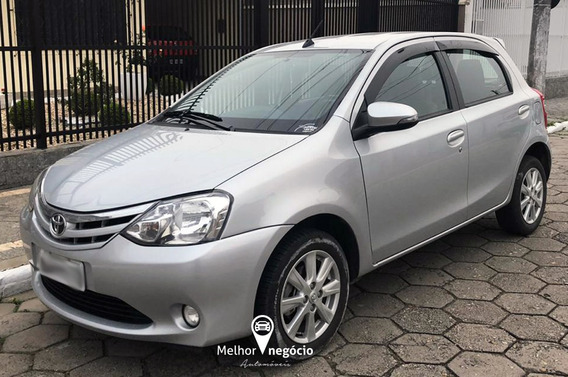 Toyota Etios Xls 1.5 5p Flex Aut. 2017 Prata