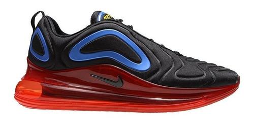 Subordinar jaula depositar  Zapatillas Nike Air Max 720 Black University Gold Royal | Mercado Libre
