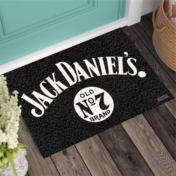 Tapete Capacho Personalizado - Jack Daniels - 0016-01