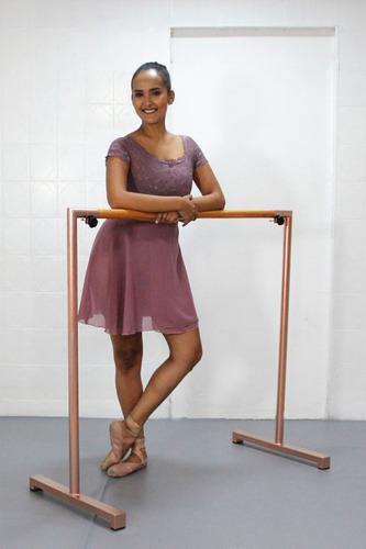 Barra Móvel P/ Ballet ( Rose - 1,50m)