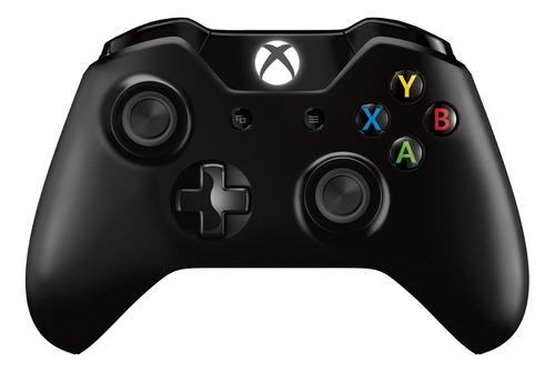 Joystick inalámbrico Microsoft Xbox Xbox One controller + wireless adapter for Windows 10 negro