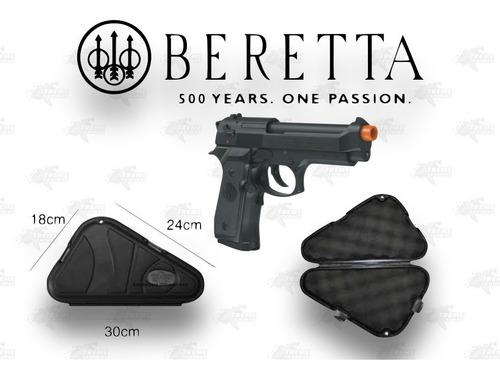 Imagen 1 de 5 de Marcadora Beretta 92a1 Blowback Co2 Bbs 6mm Estuche Xtreme