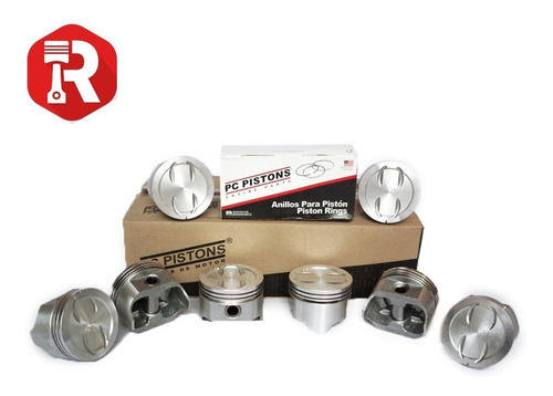 Piston Cheyenne-silverado 5.3 Con Anillos 020