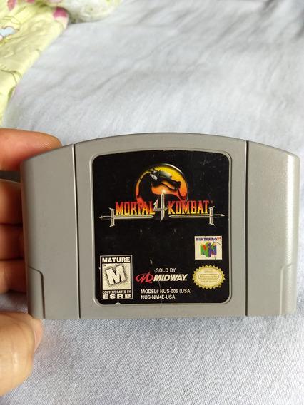 Jogo Nintendo 64 Mortal Kombat 4