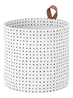 Canasto De Tela Con Interior Plástico Ikea (precio Original)